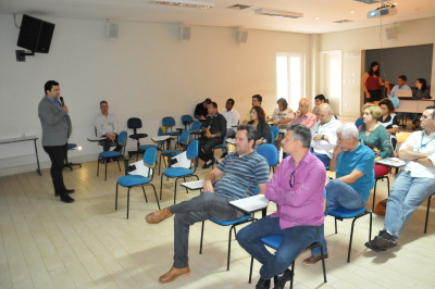 O secretário  Thiago Dourado falou  da importância do Plano ABC no Tocantins