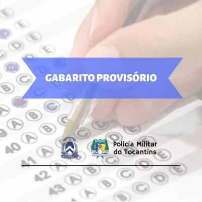 Gabarito Provisório