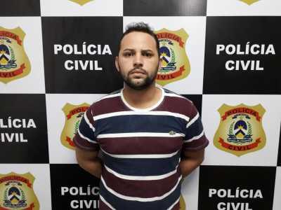 Wellington, preso pela Polícia Civil pro tráfico de drogas