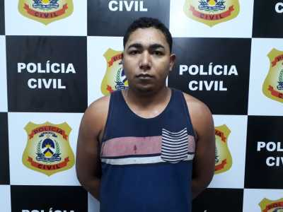 Anaziel, preso pela Polícia Civil pro tráfico de drogas