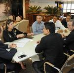 A diretora de relações institucionais da Azul, Patrícia Xavier, disse que há demanda e interesse da empresa em servir o Estado com linha área para o Nordeste