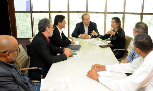 Segundo o governador Carlesse, Tocantins poderá contar com linha aérea direta para o Nordeste do Brasil