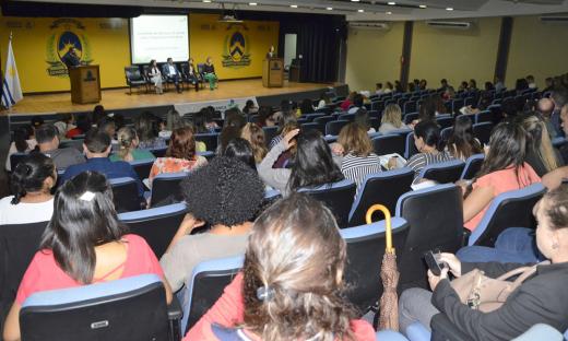 O debate sobre o assunto ocorreu no 1º Seminário Estadual de Segurança do Paciente realizado no auditório do Palácio Araguaia nesta quarta-feira, 5