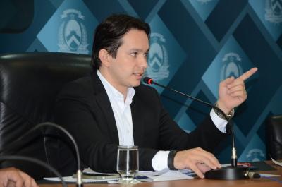 Presidente do conselho e secretário estadual do Meio Ambiente e Recursos Hídricos (Semarh), Leonardo Cintra