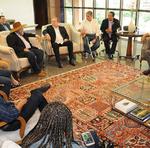 Audiência que ocorreu no Palácio Araguaia entre o Governador Mauro Carlesse, representantes políticos e empresários na construção da rodovia