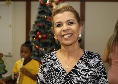 Nélida Azevedo disse do seu entusiasmo com o período natalino