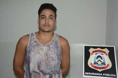 Suspeito foi autuado pela Polícia Civil por furto qualificado contra idosa na Capital_400.jpg