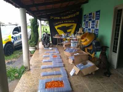 Polícia Militar localiza laboratório de produção de drogas no sul do Estado_400.jpg