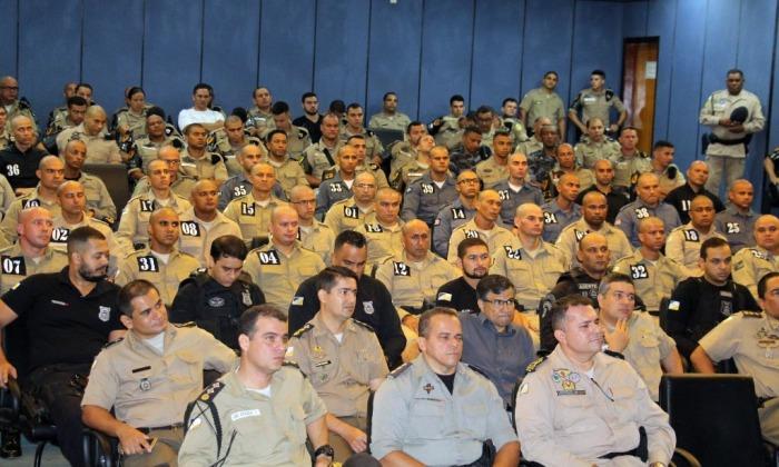 12º Curso de Força Tática tem início com 39 alunos