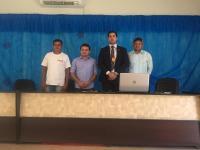 Delegado Bruno Baeza e membros da comunidade local..jpeg