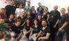 Os alimentos foram entregues à Mesa Brasil Tocantins, no Sesi de Palmas