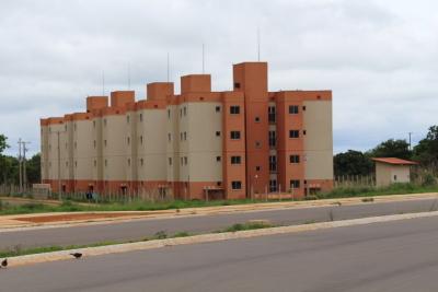 O Residencial Maria Olivia Carlesse conta com 5 blocos e beneficiará cerca de 320 pessoas.