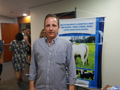 O pecuarista José Luiz Boteon  destaca a importância das informações trazidas pelo Governo do Tocantins