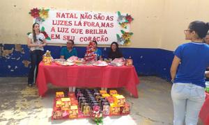 Servidoras da Unidade Prisional Feminina (UPF) de Pedro Afonso realizaram a tradicional confraternização de final de ano para as reeducandas acolhidas na casa penal