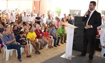 O superintendente da Sehab, Quesede Henrique, destacou a importância das parcerias para o fortalecimento da habitação no estado