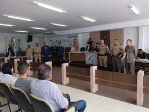 Bombeiros Militares são homenageados em sessão solene, em Gurupi