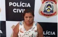 Mulher é presa pela Polícia Civil suspeita de traficar drogas em Pedro Afonso