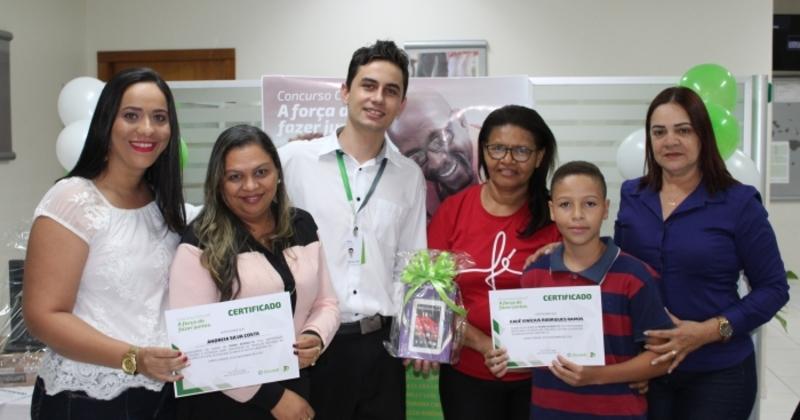 Alunos de Pedro Afonso foram premiados pela produção de trabalhos sobre o fazer coletivo
