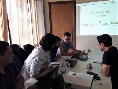 Em reunião na Semarh, o novo coordenador discute detalhes do protocolo técnico de execução do projeto
