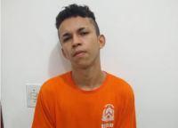Eduardo, suspeito por homicídio qualificado em Luzimangues