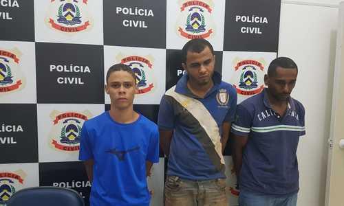 Suspeitos de explodir caixa eletrônico em Abreulândia são presos pela Polícia Civil em Palmas