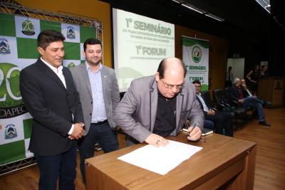 Lançamento do edital ocorreu na última quinta-feira, 13, no Palácio Araguaia, com a presença dos gestores da FAPT, Seagro e Seden