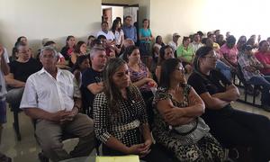 População participou de audiência pública em Monte Santo