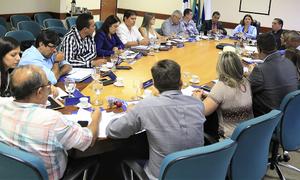 Reunião com Diretores Regionais de Educação em Palmas