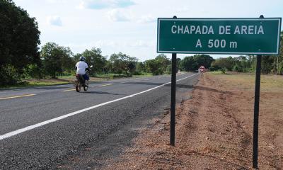 Chapada de Areia era um dos poucos municípios tocantinenses que ainda não estão ligados a outros por rodovia asfaltada