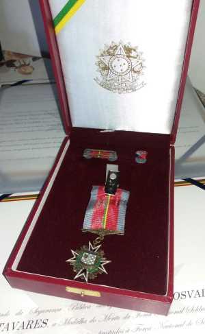 Bombeiros do Tocantins recebem medalha de Mérito da Força Nacional