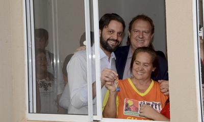 Eloi Machado recebe chave do governador Mauro Carlesse e do ministro das Cidades Alexandre Baldy