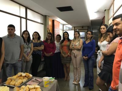 Café da manhã coletivo mobiliza servidores da PGE nesta sexta-feira, último expediente de 2018