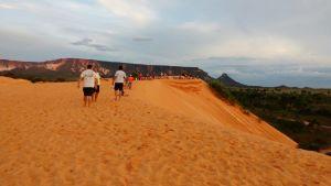 Horário de visitação nas dunas é restrito ao período da tarde