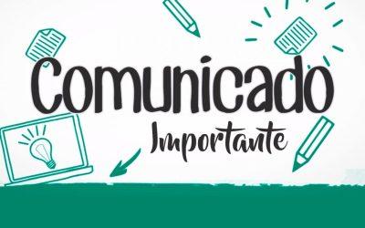 Comunicado – Jornada de trabalho e regularização de atendimentos