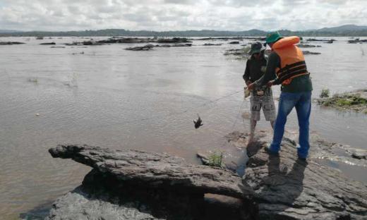 O material predatório é fruto de trabalho preventivo realizado pelo órgão nos rios Araguaia, Tocantins e afluentes