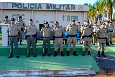 Comandantes de unidades do CPC.