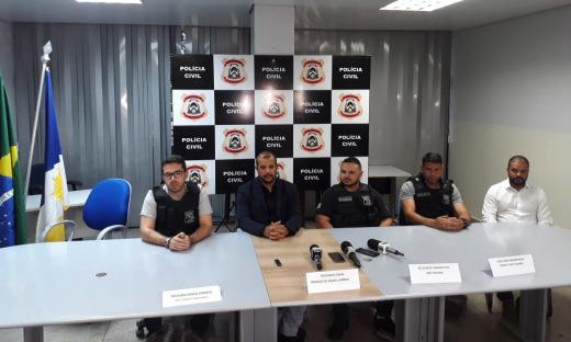 Polícia Civil apresenta resultado das investigações sobre tentativa de homicídio  contra prefeito de Novo Acordo