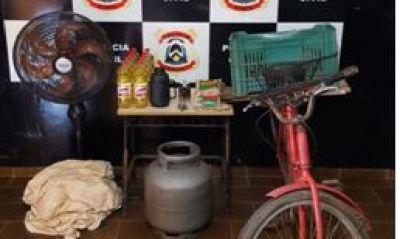 produto furtados e recuperados pela Polícia Civil.JPG