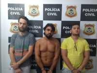 Suspeitos por tráfico de drogas são presos pela Polícia Civil no interior do Estado