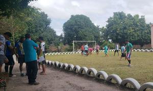 Cadeia pública de Ananás inaugura campo de futebol society