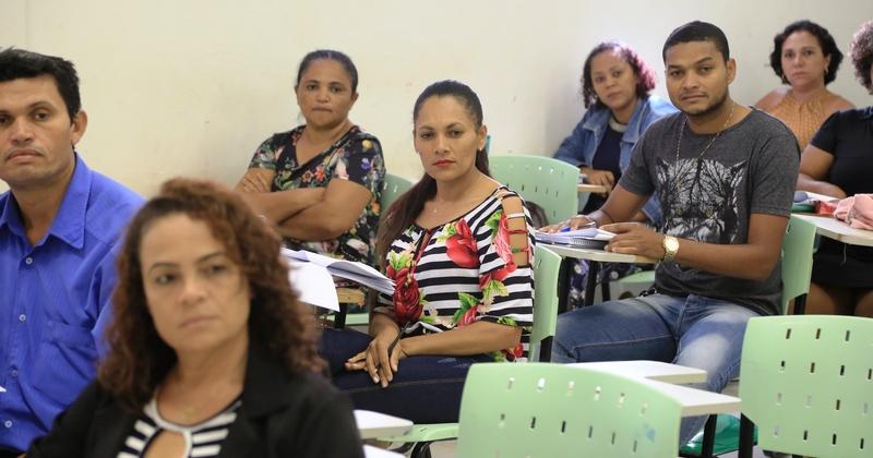 Professores participam de formação pelo Parfor em Palmas