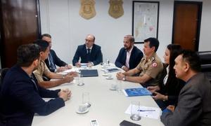 Forças de segurança estaduais iniciam série de reuniões em prol da Segurança Pública