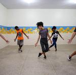 Alunos falam que a dança ajuda a superar os desafios da vida