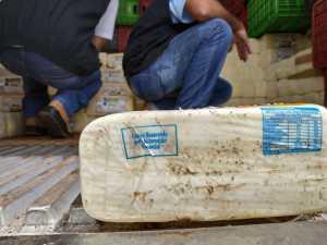 Apreensão de queijos em Couto Magalhães