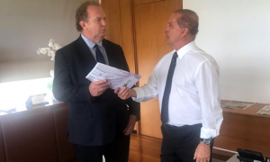 O ministro Onyx Lorenzoni recebeu de forma positiva as demandas apresentadas por Mauro Carlesse e afirmou a remessa imediata da documentação para análise
