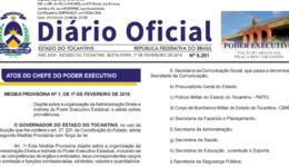 Portaria nº 212/2019, publicada no Diário Oficial do Estado, DOE nº 5.291 de 1º de fevereiro de 2019