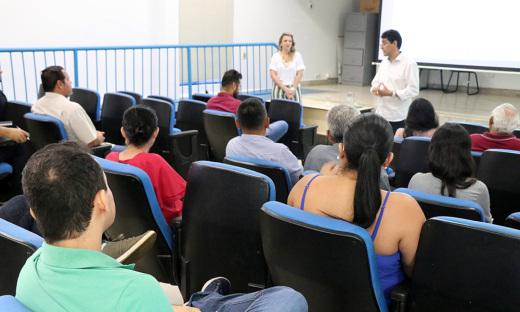 Servidores da ATS participam de palestra realizada nesta quarta-feira, 5