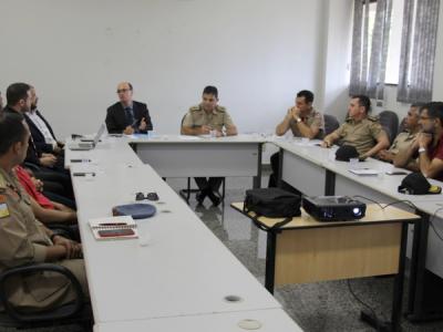 Reunião com Forças de Segurança dá continuidade aos planejamentos para 2019