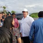 Governador, Mauro Carlesse, vistoria ponte de Porto Nacional, na TO-255, na manhã desta quinta-feira, 7