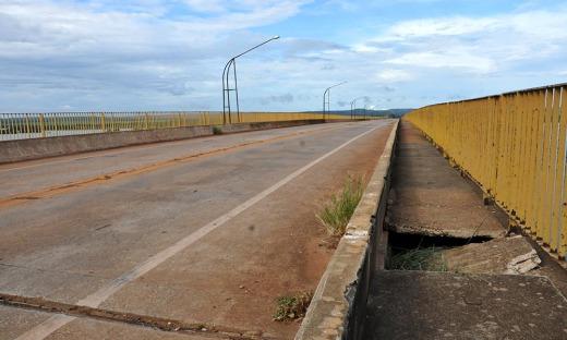 Ponte de Porto Nacional, na TO-255, é interditada para estudos técnicos de viabilidade de tráfego